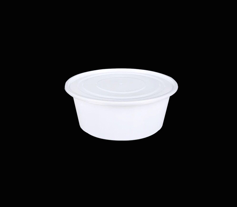round shape disposable lunch box