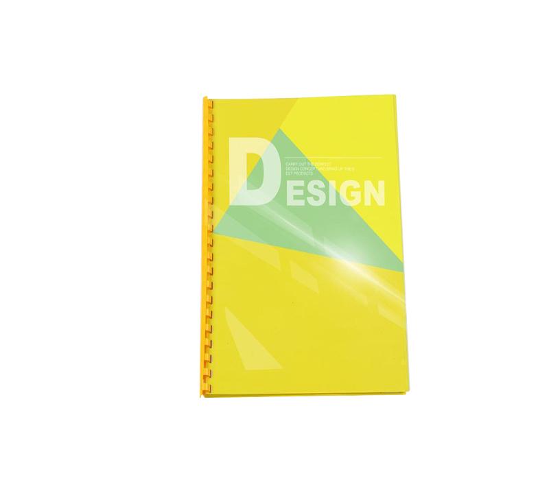 transparent binding sheet