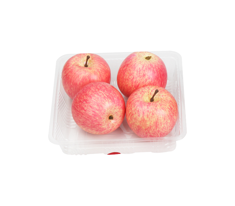 Use and maintenance of plastic food/fruit trays