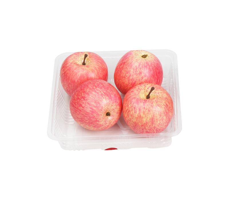Use and maintenance of plastic food/fruit trays
