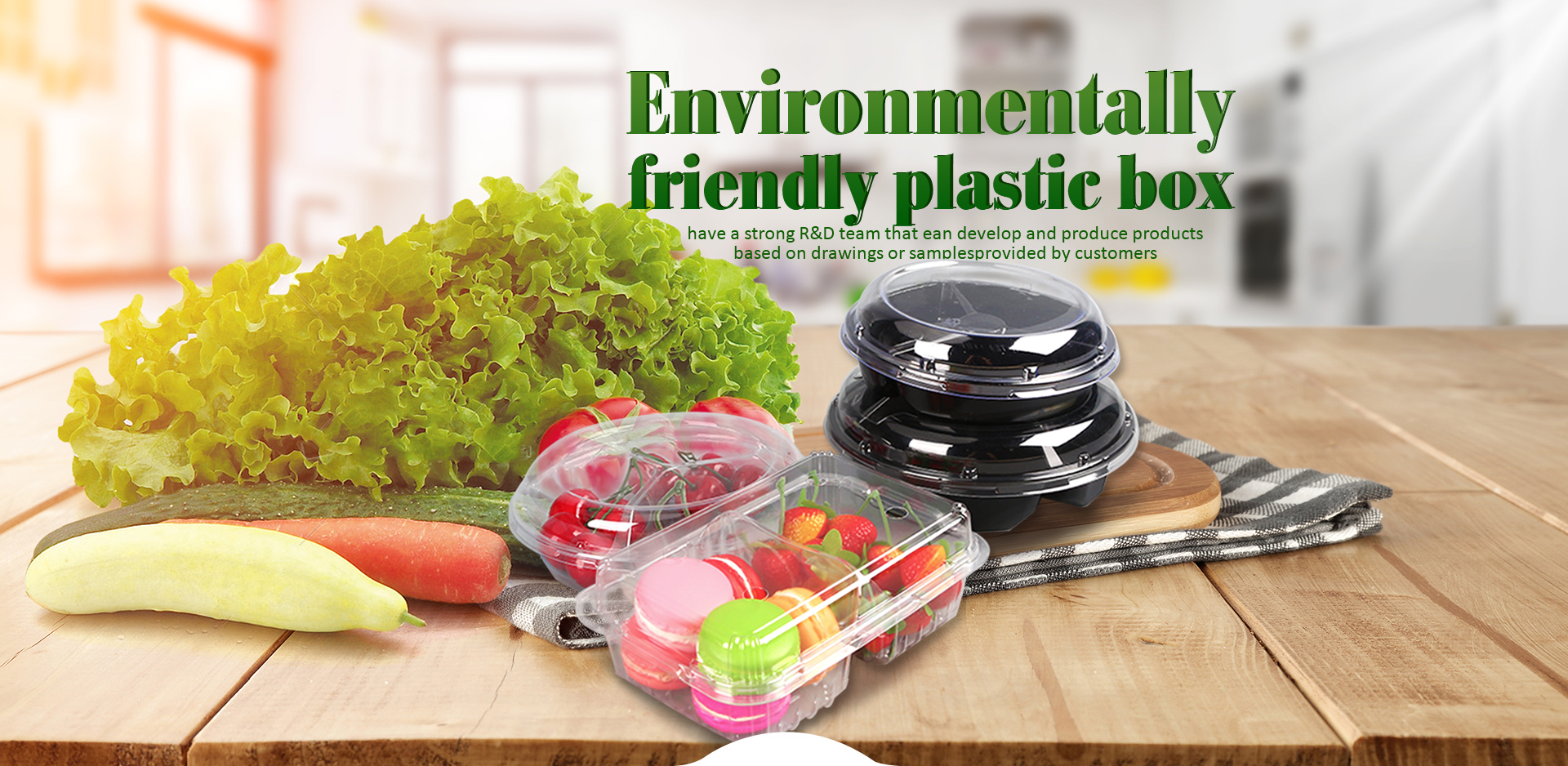 Environmentally friendly lunch boxes are a must for market development